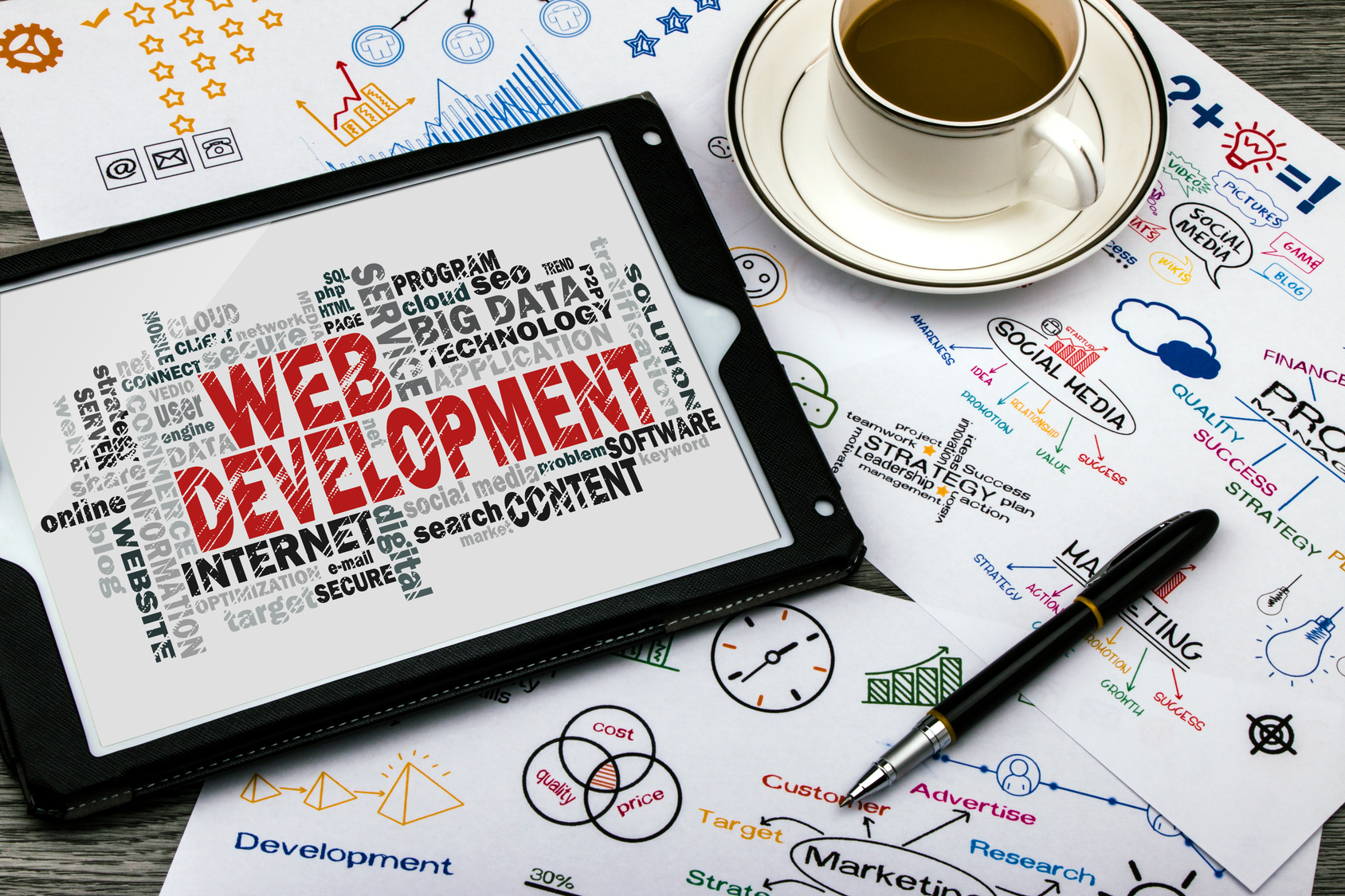 Développement web, Webdesign